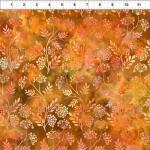 IN THE BEGINNING FABRICS - Floragraphix V - Sprigs - Orange