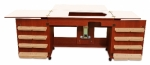 Arrow Bertha Sewing Cabinet Cherry Drop Ship