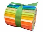 Rainbow Solids Dresden Plate Roll 2