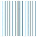 BENARTEX - Zoey Christine Blue Stripe #132