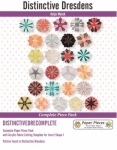 Distinctive Dresdens Complete Paper Piece Pack & 1 Acrylic Template by Paper Pieces