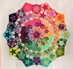 Tula Nova Quilt Complete Piece Pack /Pattern Included by Paper Pieces