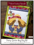 Daisy Gnome Mug Rug Kit by The Whole Country Caboodle