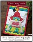 Floaty Flamingo Gnome Mug Rug Kit by The Whole Country Caboodle