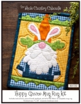 Hoppy Gnome Mug Rug Kit by The Whole Country Caboodle