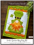 Irish Gnome Mug Rug Kit by The Whole Country Caboodle