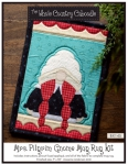 Mrs. Pilgrim Gnome Mug Rug Kit by The Whole Country Caboodle