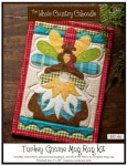 Turkey Gnome Mug Rug Kit by The Whole Country Caboodle
