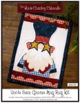 Uncle Sam Gnome Mug Rug Kit by The Whole Country Caboodle