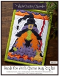 Wanda the Witch Gnome Mug Rug Kit by The Whole Country Caboodle