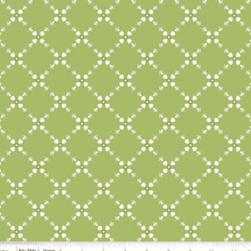 RILEY BLAKE - Hello, Lovely - Diamond Floral Green - #738