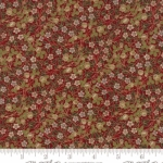MODA FABRICS - Morris Holiday Metallic - Crimson