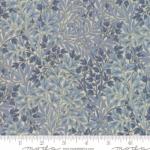 MODA FABRICS - Morris Holiday Metallic - Linen Indigo