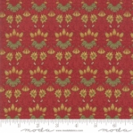 MODA FABRICS - May Morris Studio - Crimson - #3460-