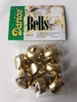 Darice Gold Jingle Bells 8pc 7/8