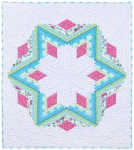 Diamond Log Cabin Quilt Kit by Quilt in a Day