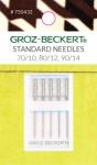 Groz-Beckert 130/705 H 70/10, 80/12, 90/14 Standard Needles