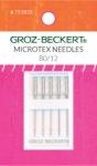 Groz-Beckert 130/705 H-M 80/12 Microtex Needles