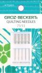 Groz-Beckert 130/705 H-Q 75/11 Quilting Needles