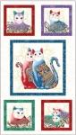 BENARTEX - Cat-i-tude 2 Purrfect Together - PANEL - PL32