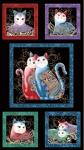 BENARTEX - Cat-i-tude 2 Purrfect Together - PANEL - PL33