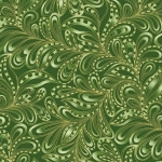 BENARTEX - Cat-i-tude Christmas - Featherly Paisley Forest