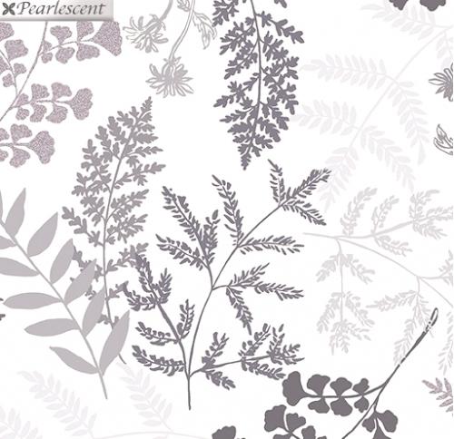 KANVAS STUDIO - Midnight Pearl - Midnight Fern - White - Pearlized - #3322-