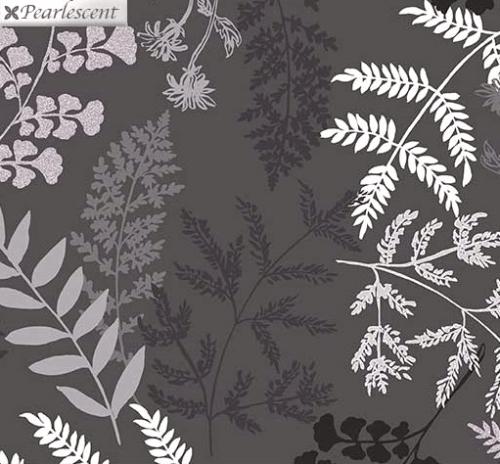 KANVAS STUDIO - Midnight Pearl - Midnight Fern - Gray - Pearlized - #3323-