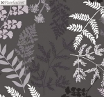 KANVAS STUDIO - Midnight Pearl - Midnight Fern - Gray - Pearlized