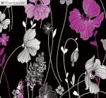 KANVAS STUDIO - Midnight Pearl - Midnight Garden - Black Berry - Pearlized