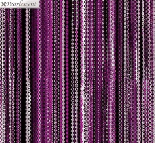 KANVAS STUDIO - Midnight Pearl - Shimmery Strands - Black Berry - Pearlized