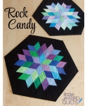 Jaybird Quilts: Rock Candy Table Topper Pattern
