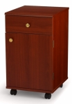 Arrow Suzi Sidekick Storage Cabinet Cherry Drop Ship