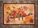 Laundry Basket Quilt Patterns: Harvest Pumpkin