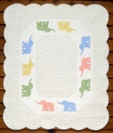 Baby Elephant Walk Pattern by MH Designs