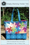 Around The Bobbin: Simply Charming Twister Tote
