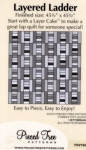Layered Ladder - Tiny 60 Pieced Tree Patterns