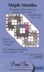 Maple Mambo - Tiny 56 Pieced Tree Patterns