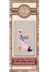 The Wooden Bear Quilt Designs: Strawberry Lemonade Patternlet