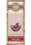 The Wooden Bear Quilt Designs: Watermelon Patternlet