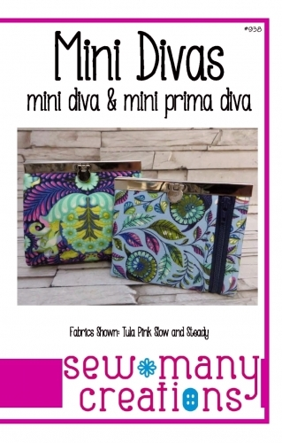 Mini Divas Pattern by Sew Many Creations