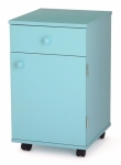 Arrow Suzi Sidekick Storage Cabinet Blue Drop Ship