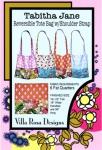 Tabitha Jane Tote Bag Pattern - Villa Rosa Designs
