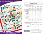 Drop Diamonds Pattern by Cozy Quilt Designs