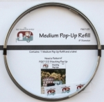 Medium Pop-Up Refill 8 in Diameter