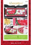 Slice Of Summer Watermelon Bench Pillow KimberBell Designs KD175