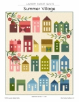 Summer Village Quilt Pattern by Laundry Basket Quilts