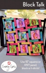 Block Talk Quilt Pattern by Swirly Girls Designs