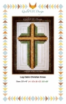 Log Cabin Christian Cross by QuiltFox