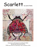 Scarlett. The Ladybug Collage Pattern by Laura Heine